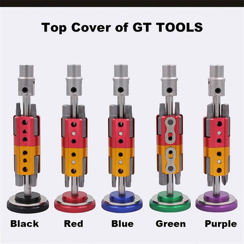Купить с кэшбэком SRWRN bicycle invisible tool portable multi-function repair tool six-piece screwdriver T25 wrench set