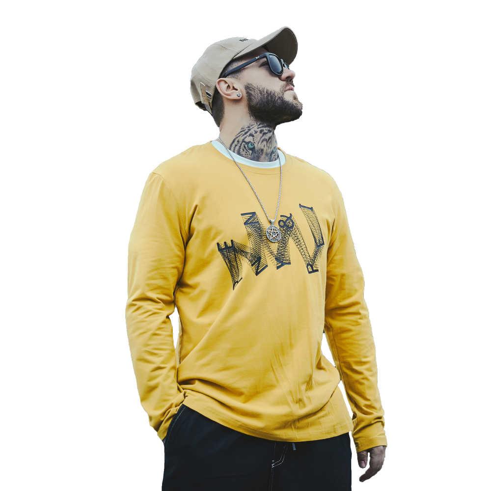 Мужская 3D футболка лето 2019 Хлопок Уличная Модная одежда с принтом буквы человек повседневная футболка с коротким рукавом желтый большие размеры XL-6XL
