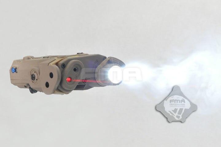 2019 FMA NOUVEAU AN-PEQ-15 Version Mise À Niveau LED Lunettes LED Blanc Rouge Lentille Laser TO instructions avec IR Livraison Gratuite Hommes