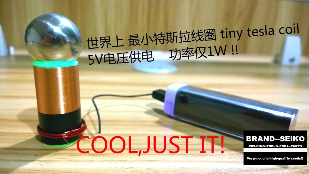Minimum tesla coil in the world A watt power tiny tc super mini teslas coilMinimum tesla coil in the world A watt power tiny tc super mini teslas coil