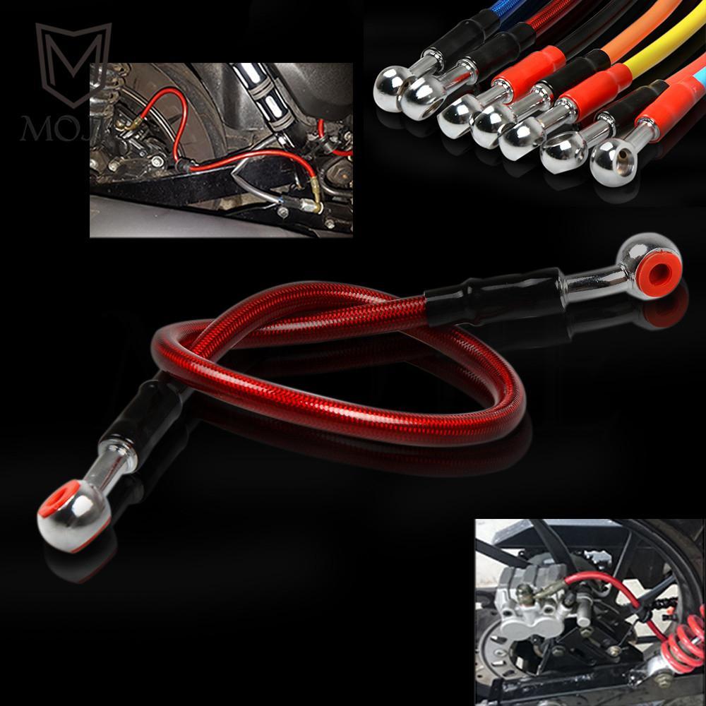 For Honda CB CBR 250 300 400 500 1000 CB600F CBR600/RR CBR1000RR 900 929 954 RR CBF600 VT750 VTR1000 Motorcycle oil hose tubing black blue bar ends for honda cbr 600 900 929 954 rr 1000 1100 cb 599 919 vfr 800 gl1800