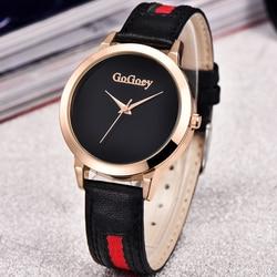 Quartz Watch Women Gogoey Brand Luxury Leather Watches Ladies Popular Casual Fashion Gold Watch relogios femininos reloj mujer