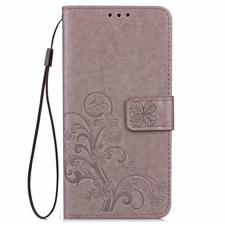 Lucky Clover Flor Case Para Samsung Galaxy Note 9 S9 A6 A8 Plus j6 j4 j7 j8 2018 A3 j3 a5 A7 j5 2017 S3 P05G Fundas i9300 Da Aleta