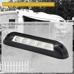 Image 5 - רכב סטיילינג 12V עמיד למים פנים קיר מנורות אור בר RV LED סוכך מרפסת אור לקרוון קרוון RV ואן
