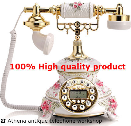 Resin Old Fashioned Telefon / Creative Retro House Phones with Caller Id / Antique  Desk Phone - Resin Old Fashioned Telefon / Creative Retro House Phones With