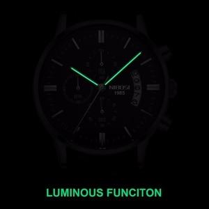 Image 4 - NIBOSI Men Watch Relogio Masculino Gold Black Mens Watches Top Brand Luxury Waterproof Automatic Date Quartz Watch Men Clock