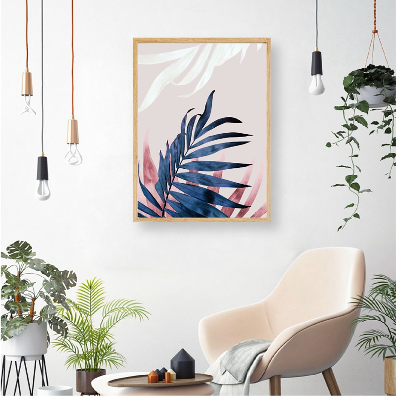 Botanical Canvas Art Painting Home Decor