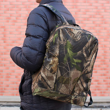 Waterproof Hunting Camouflage Backpack Camping Hiking Day Pack Rucksacks Outdoor Trekking Tactical Military Army Bags
