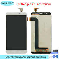 For Doogee Y6 Y6C pianno LCD Display And Touch Screen assembly Repair Parts 5.5 Inch Replacement For Y 6 +Tools