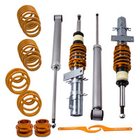 Racing Coilover Suspension Spring Shock Kit for VW Polo 9N 1.2L 1.4L 02 09 Shock Absorber Struts Lowing Ride Height