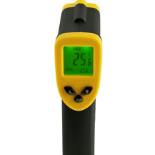 Cheaper 1pcs Non-Contact Digital Infrared Thermometer Temperature with Laser -50~380 degree