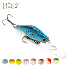 H&Ok Tremendous Low-cost Fishing Lures,10 Shade For Select, Lengthy Shot Minnow,Crank 95mm 7.5g, Dive 1.5m Fishing Deal with Onerous Bait HK010