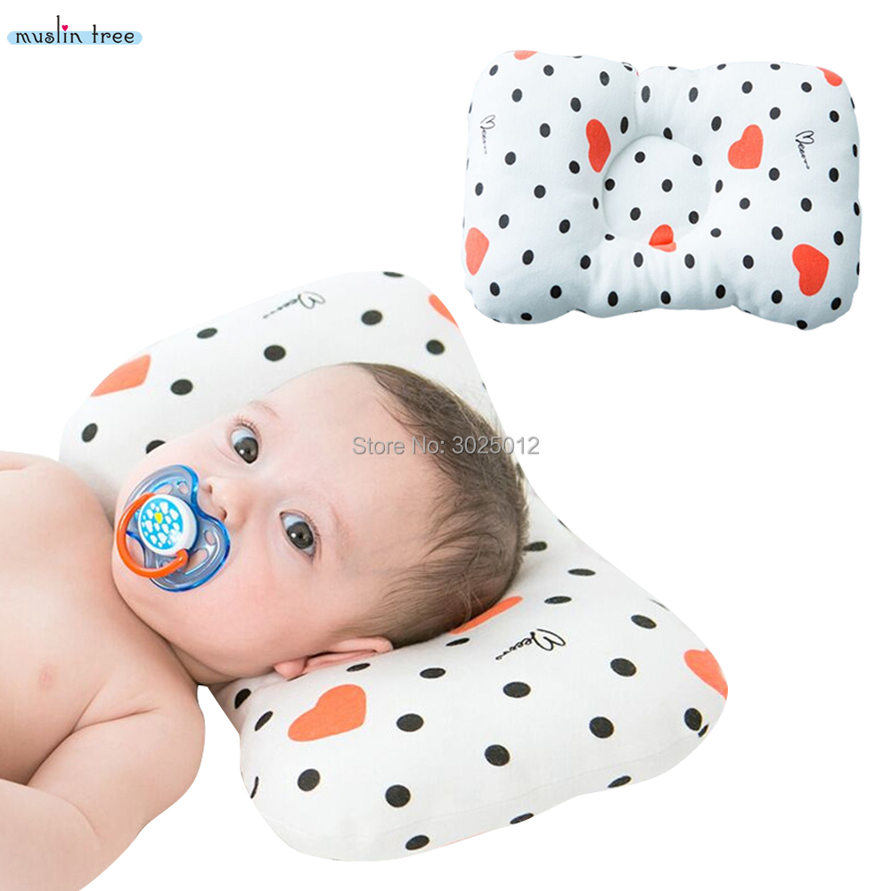 bfec518ad Best buy Muslin Tree Baby Pillow Newborn Baby Pillow Baby Positioner Anti  Roll Flat Head Pillow For 0 2 Years Kids Size 21X32cm online cheap