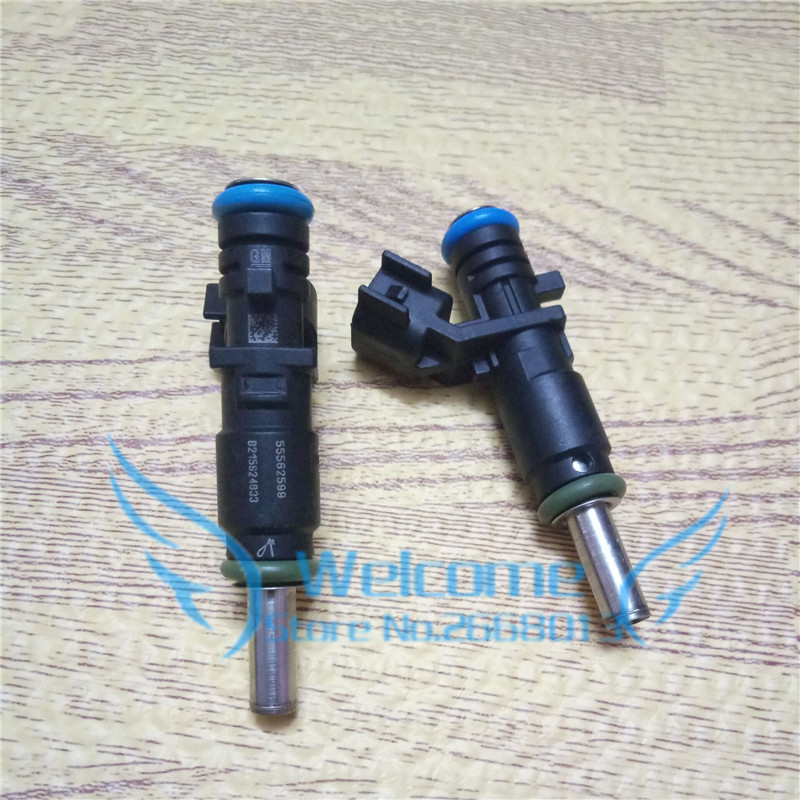 Original Fuel Injector / 8 Holes Injection Nozzle for Chevrolet Cruze 1.6 AVEO OPEL ORLANDO ASTRA INSIGNIA ZAFIRA OEM: 55562599 100% original fuel injectors nozzle injection for vw audi skoda injector 03h 906 036 03h906036