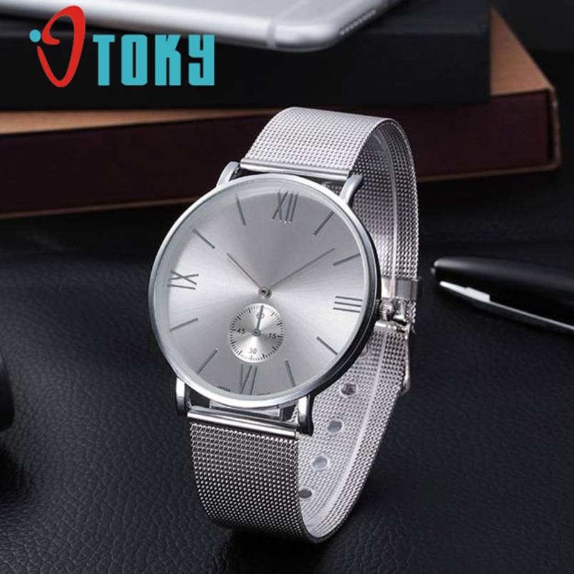 все цены на  Excellent Quality New Famous Brand Silver Casual Quartz Watch Women Metal Mesh Stainless Steel Watches Relogio Feminino Clock  онлайн