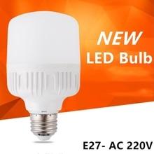 Hot power LED Bulb Lamp E27 220V-240V Light Smart IC  Power 5W 10W 15W 20W 30W 40W 50WHigh Brightness Lampada Bombillas