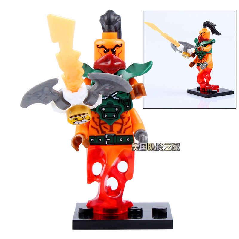 SingleSale NADAKHAN NJO195 pbi gestión LLoyd Kai Jay Cole ninja Zane minifigura modelo edificio bloques niños juguetes regalos