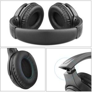 Image 5 - Kebidu Tragbare Drahtlose Kopfhörer Bluetooth Stereo Faltbare Headset Audio Mp3 Einstellbar Musik Kopfhörer mit Mic