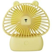 Usb Desk Fan, Mini Personal Fan Battery Powered, 3 Speed Small Fan For Desk Table Home Office,Gift Idea For Kids Girls Woman. цена