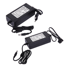 Universele 15V 5A Ac Naar Dc Voeding Adapter Power Adapter Dual Kabel Converter Voor 5.5x2.1 2.5Mm Plug