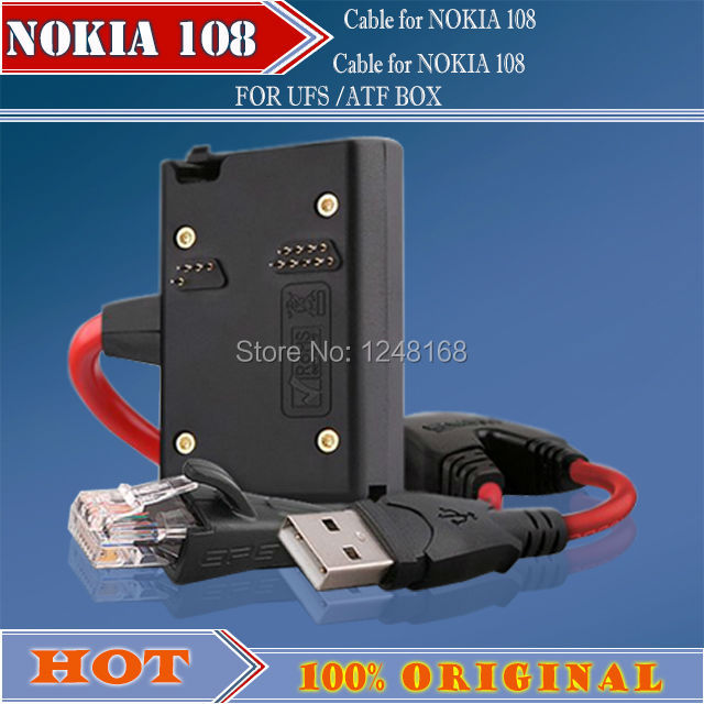 combo cable for Nokia 108 for jaf/ufs/atf box for nokia phone unlock&flash&repair +Free shipping