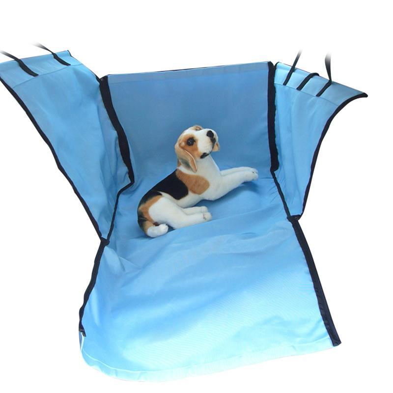 sky-blue Steady Durable Car Pet Foldable Seat Cover Waterproof Scratchproof Dog Protector Hammock Nourishing The Kidneys Relieving Rheumatism