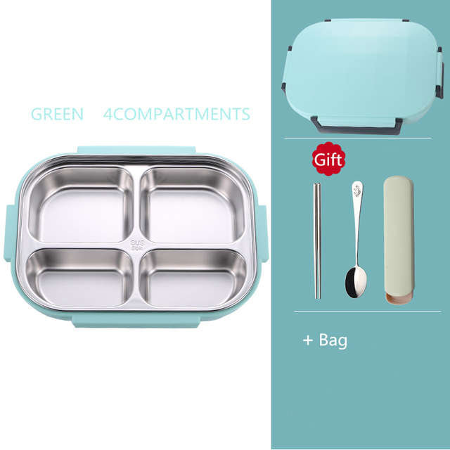 Green 4 bag Cheap bento boxes 5c6479e2edeb1