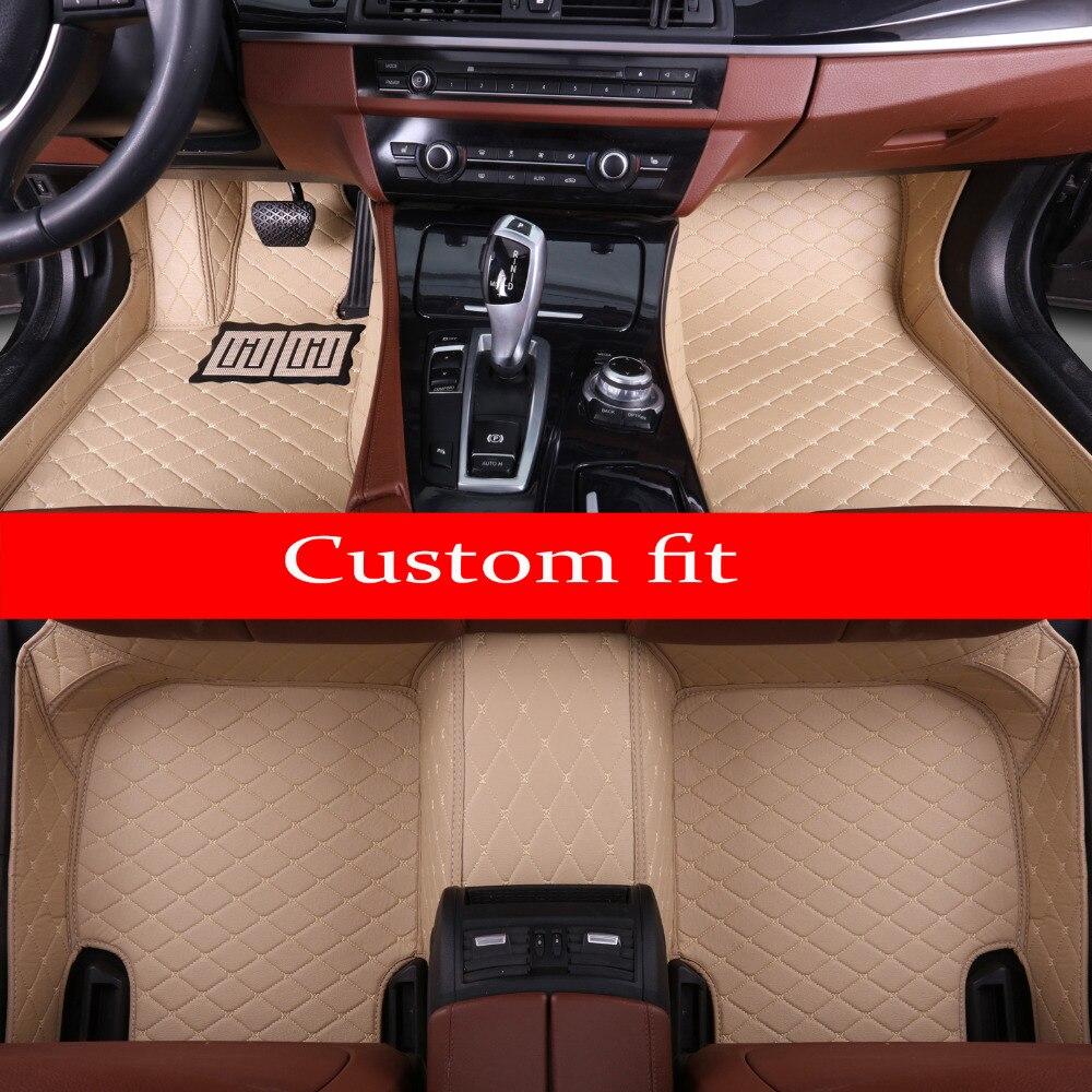 Car floor mats for Toyota Camry Prado RAV4 Mark X Corolla Highlander Land Cruiser 200 5D car-styling linersCar floor mats for Toyota Camry Prado RAV4 Mark X Corolla Highlander Land Cruiser 200 5D car-styling liners