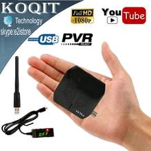 Мини Размеры V9 плюс Full HD цифровой DVB-S2 спутниковый ресивер Поддержка Wi-Fi 3 г YouTube PVR CCcam Мощность Vu Biss Икс Декодер каналов кабельного телевидения