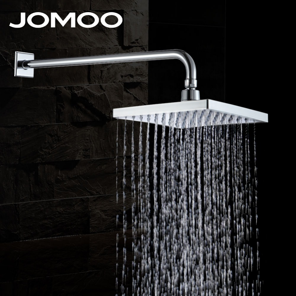 Jomoo shower head 9 inch waterfall rain shower over head - Which uses more water bath or shower ...