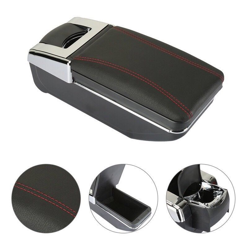 For Honda Fit Jazz 2003 2007 Car Armrest Box Car Styling Central Store Content Box Cup Holder Interior Auto Accessories in Armrests from Automobiles Motorcycles