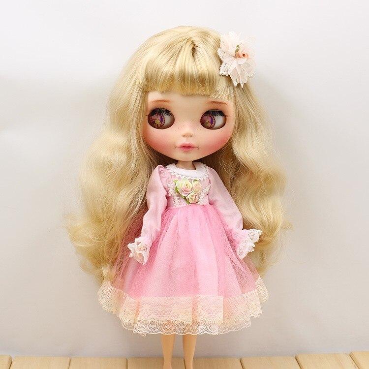 Neo Blythe Doll Lace Flower Dress 8