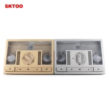 SKTOO New front Dome Reading Map Light Lamp For VW POLO NEW 2011-2013 6R 2014+ 6C gray/beige