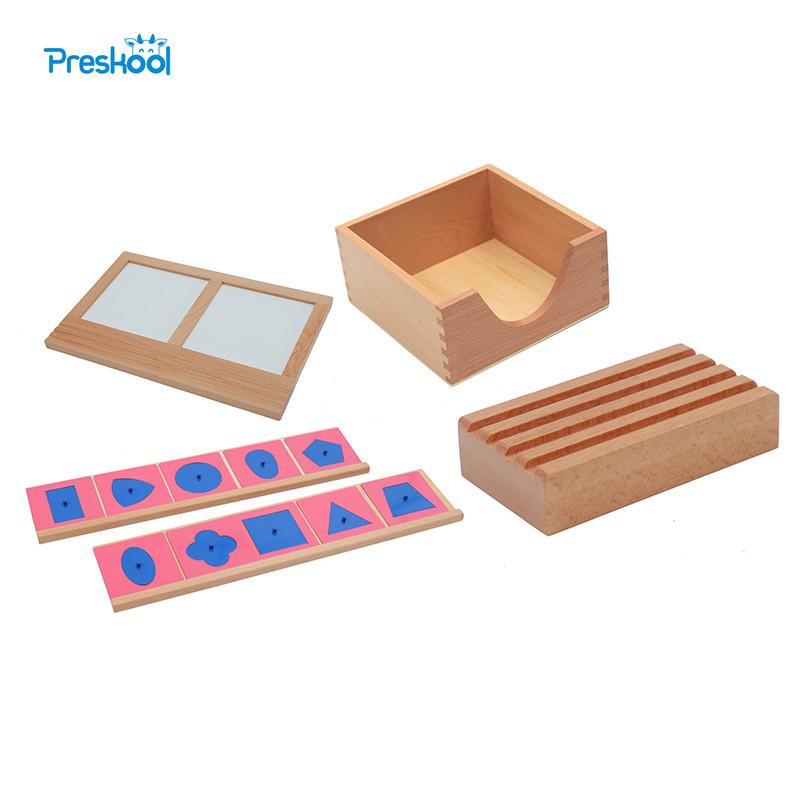 Baby Toy Montessori Metal Insets With 2 Stands Pencil Holder Inset Meta Holder Tracing Tray Brinquedos Juguetes