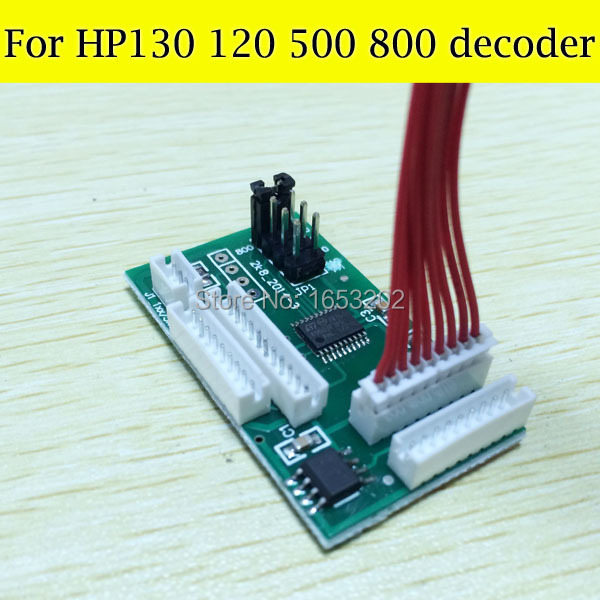 1 PC Chip Decoder For HP 10 11 82 84 85 Cartridge For HP Officejet 500 800 130 120 Printer