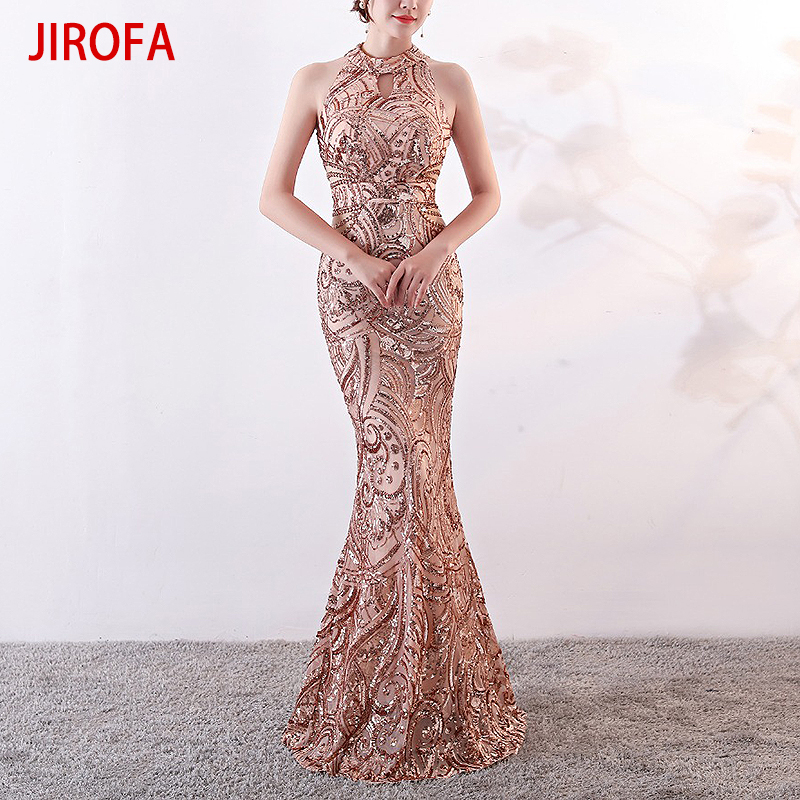 Vestidos Verano 2019 Summer Sequin Dress Women Elegant Sexy Bodycon Dress for Wedding Formal Party Maxi Black Gold Robe femme-in Dresses from Women's Clothing    1