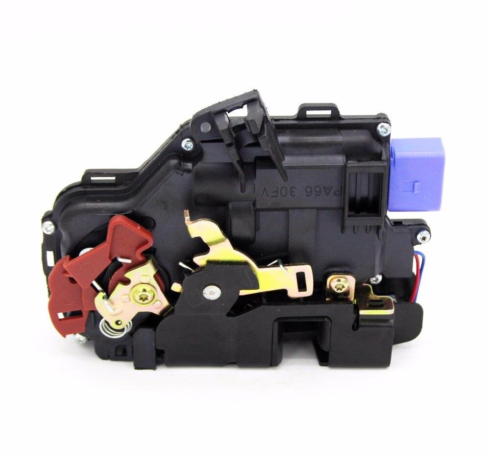 3D1837015A 3D9 837 015 FRONT LEFT SIDE DOOR LOCK ACTUATOR CENTRAL MECHANISM FOR VW TOURAN (1T1, 1T2) 2003-2010