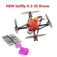 Happymodel Sailfly X 105mm Crazybee F4 PRO V2.1 AIO Flight Controller 2 3S Micro FPV Racing Drone PNP BNF 25mW VTX 700TVL Camera