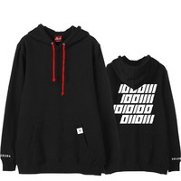 kpop GOT7 concert around should help paragraph Yien Wang Jiaer the same paragraph jacket plus velvet hoodie student sweatshirt