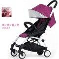Nuevo cochecito de bebé 6 KG de coche de bebé paraguas plegable suspensión puede sentarse mentira 0-36 meses bebé buggies plegables carros