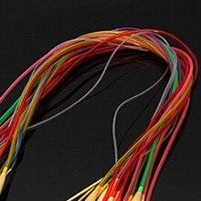 2016 New Arrival Multicolor 2mm-10mm 18 pcs/Set 80CM Smooth Bamboo Circular Knitting Needles Pins Crafts Tools