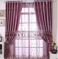 FYFUYOUFY Europäischen stil wohnzimmer glatte tuch vorhang voile vorhang wasserlöslichem höhlen stickerei vorhang sonderangebot