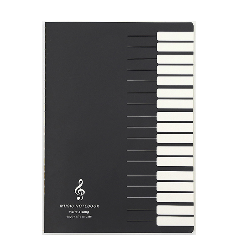 Notebooks Fünf Linien Musik Notizen Notebook Musik Tab Mitarbeiter Stab Notebook 5 Kopien/lot Mit Traditionellen Methoden