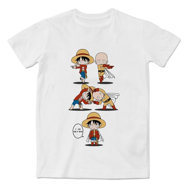 7ef308a76 ... Goku VS One Piece Luffy T Shirt Anime Original Design. 1 reviews. 100%  of buyers enjoyed this product! 18 orders. US $40.00. (%). Free. Color:  Please ...