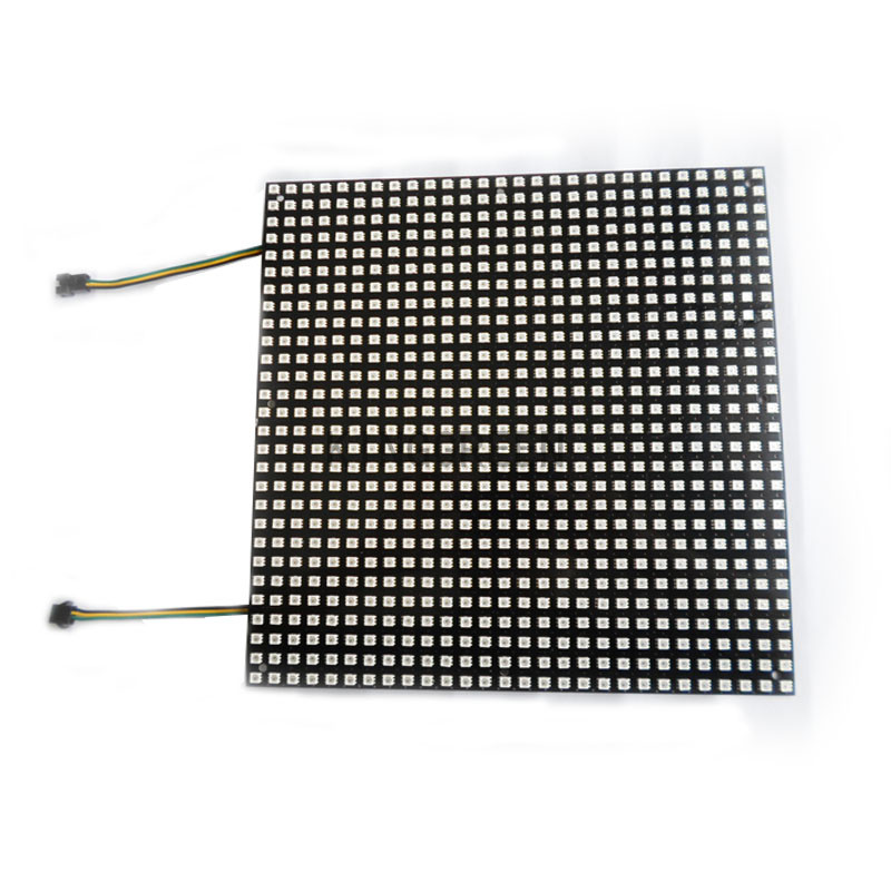 цена на 1X Fiber board plate APA102 RGB full color led matrix pannel 784/600/196 pixels DC5V input APA102 led display free shipping