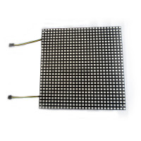 1X Fiber board plate APA102 RGB full color led matrix pannel 784/600/196 pixels DC5V input APA102 led display free shipping
