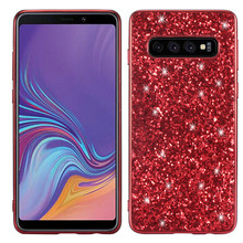 Phone Case for Samsung Galaxy S10 Lite Silicon Bling Glitter Crystal Sequins Soft TPU Cover Fundas Plus