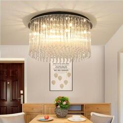 Современные светодиодный Потолочные светильники Гостиная Laminarias Para Teto домашнего освещения круглый потолочный светильник Plafondlamp Спальня