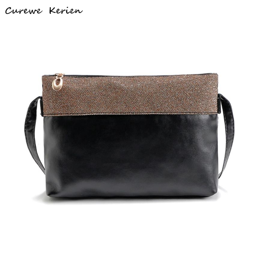 New Fashion Women PU Leather Shoulder Bags Vintage Designer Messenger Bag Luxury Ladies Handbag Clutch Bags Bolsa Feminina Nov28 new fashion women pu leather shoulder bags vintage tassel female messenger bag ladies handbag clutch bags bolsa feminina dec28