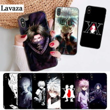 Lavaza Hunter X Anime Coque Silicone Case for iPhone 5 5S 6 6S Plus 7 8 11 Pro XS Max XR